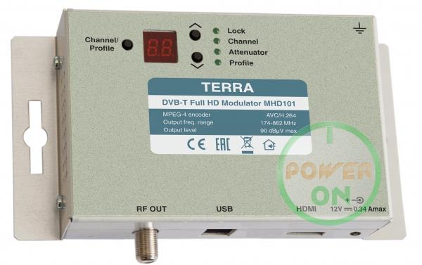 terra Full HD модулятор Terra MHD101 HDMI
